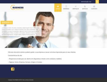 site para business