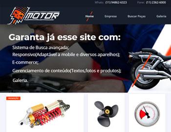 site para vendas de peças
